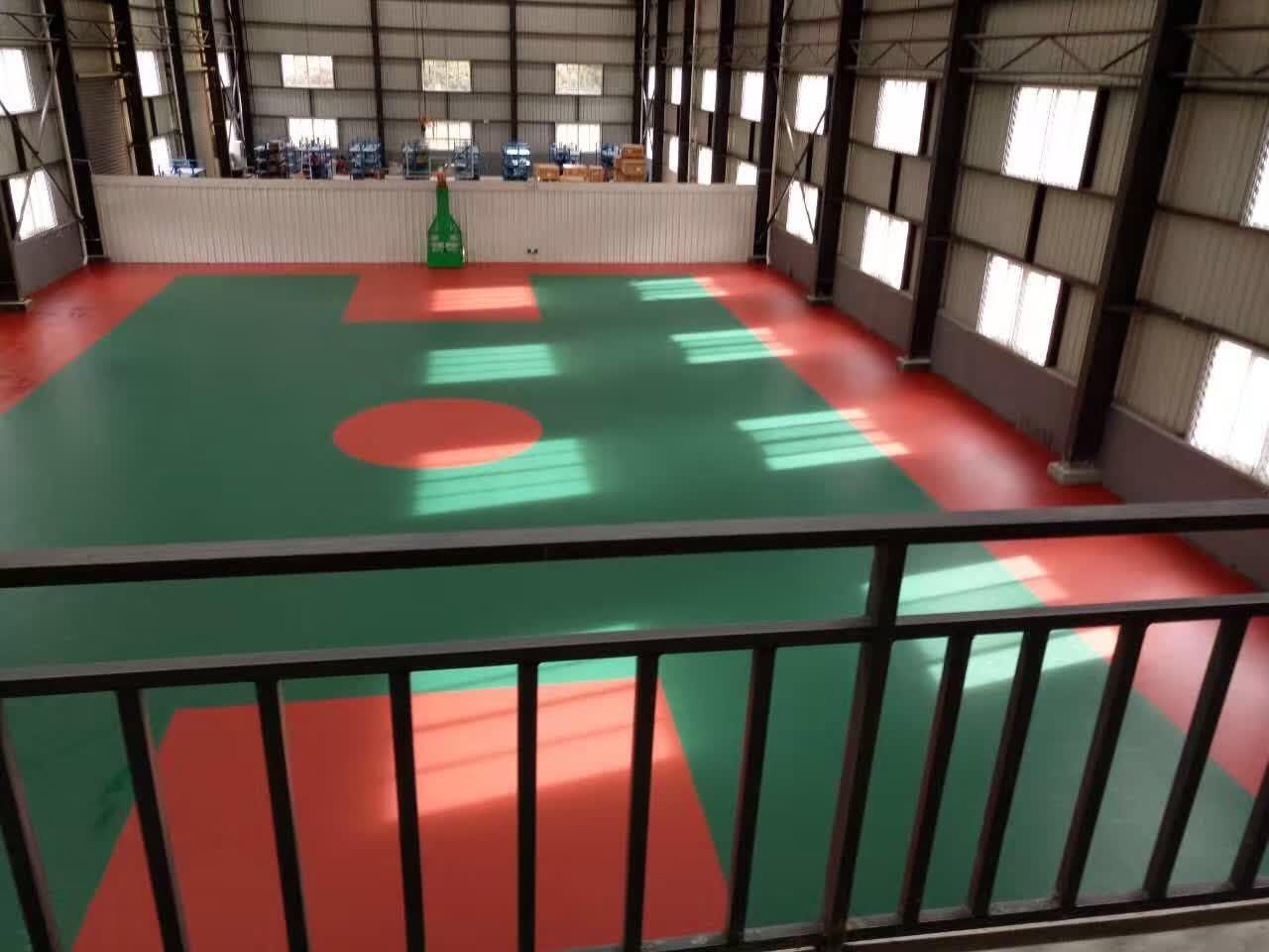 西藏林芝室內硅PU球場